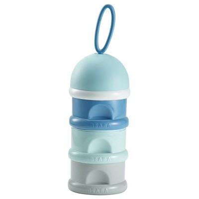 Dosificador Beaba Leche Apilable Azul 911554