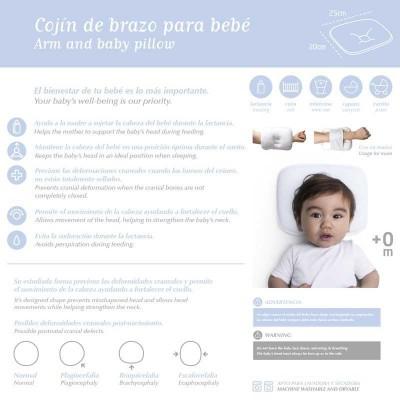 Cojin de Brazo Cambrass Blanco