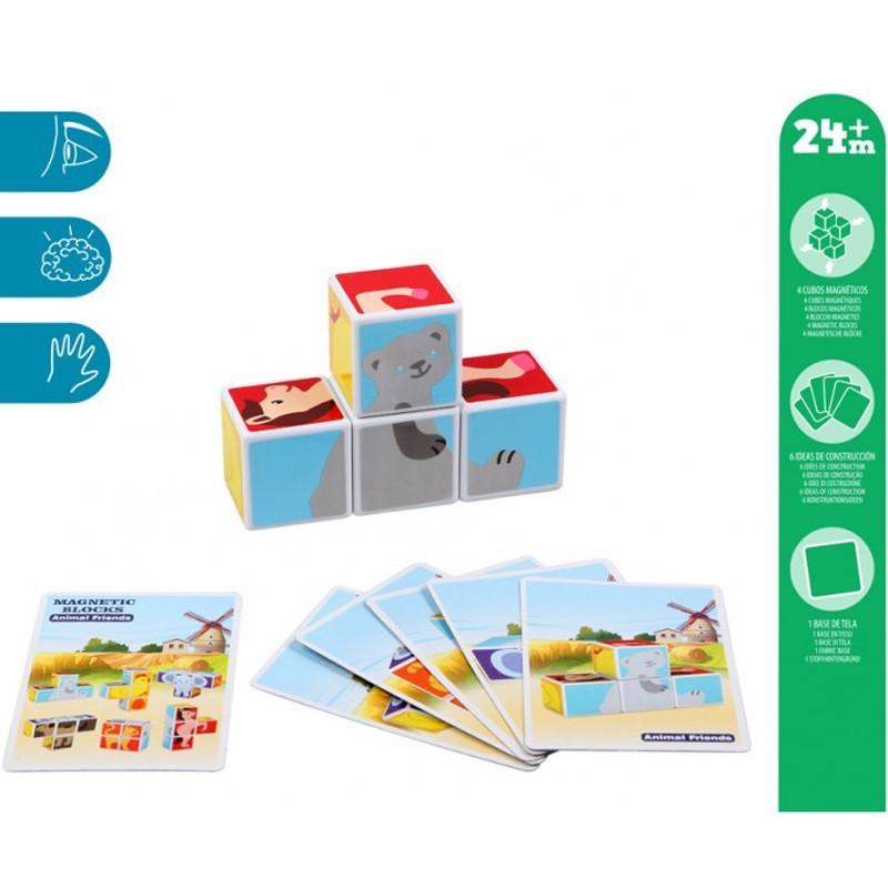 Puzzle Infantil Magnetico Kiokids 4 Piezas
