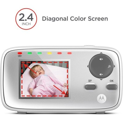 Vigilabebe Motorola Baby Monitor Digital Video 2.4