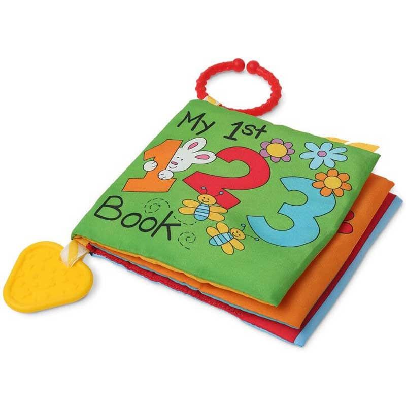 Libro Textil Infantil de Juguete Actividades con Numeros de Kiokids